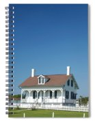 Tybee Island Lighthouse Georgia Spiral Notebook