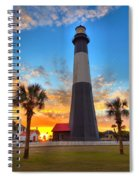 Tybee Island Sunrise Spiral Notebook