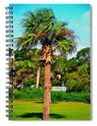 Tybee Palm Spiral Notebook
