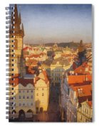 Tyn Church Old Town Square Spiral Notebook