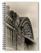 Tyne Bridge Spiral Notebook