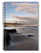 Tynemouth Longsands Spiral Notebook