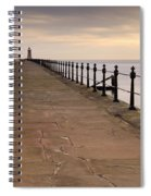 Tynemouth North Pier Spiral Notebook