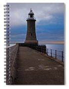 Tynemouth Pier Lighthouse Spiral Notebook