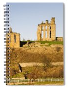 Tynemouth Priory And Castle Spiral Notebook