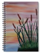 Typha Spiral Notebook