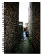 Typical English Back Alley Spiral Notebook