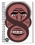 Typortraiture Obama Spiral Notebook
