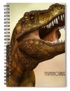 Tyrannosaurus Rex 3 Spiral Notebook