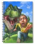 Tyrannosaurus Rex Jurassic Park Dinosaur - T Rex - Paleoart- Fantasy - Extinct Predator Spiral Notebook