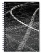 Tyre Tracks Spiral Notebook