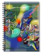 Tzadik 6 A Spiral Notebook