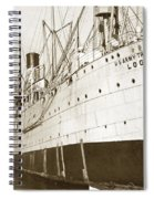 U. S. Army Transport Logan San Francisco California  1898 Spiral Notebook