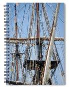 U. S. Brig Niagara Rigging Spiral Notebook