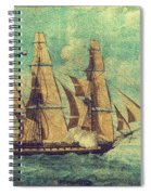 U S S Constitution 1803-1804 Spiral Notebook