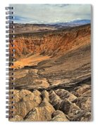 Ubehebe Crater Spiral Notebook