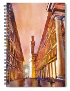 Uffizi- Florence Spiral Notebook