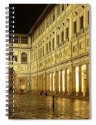 Uffizi Gallery Florence Italy Spiral Notebook