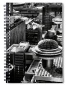 Ufo Parking Lot Spiral Notebook
