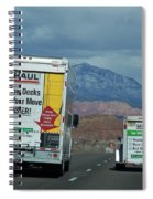 Uhaul On The Move Spiral Notebook