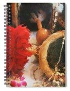 Uliuli Hula Ahui Ko'i Ho'i Kahiko Spiral Notebook
