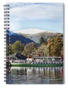 Ullswater Pleasure Ship Spiral Notebook