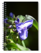 Ultra Violet Wildflower Spiral Notebook
