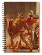 Ulysses Revenge On Penelopes Suitors Spiral Notebook