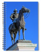 Ulysses S. Grant Guards The United States Capitol Spiral Notebook