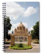 Umaid Bhawan Palace, India Spiral Notebook