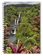 Umauma Falls Spiral Notebook
