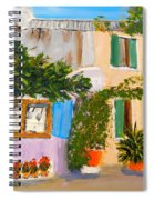 Umbera Courtyard Spiral Notebook