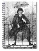 Umbrella, 19th Century Spiral Notebook