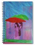Umbrella Girls Spiral Notebook