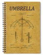 Umbrella Patent 1 Spiral Notebook