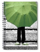 Umbrella Trio Spiral Notebook