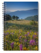 Umbria Wildflowers Spiral Notebook