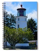 Umpqua River Lighthouse Spiral Notebook