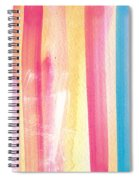 Umrbrella Stripe- Contemporary Abstract Painting Spiral Notebook