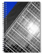 Un Building Tilted Spiral Notebook