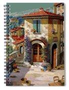 Un Cielo Verdolino Spiral Notebook