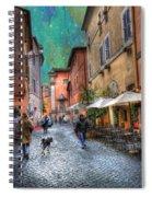 Una Notta A Roma Spiral Notebook