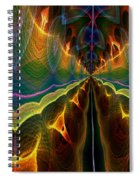 Unbalanced Mind Spiral Notebook