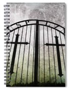 Unblessed Ground Spiral Notebook