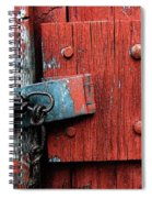 Unchain My Heart Spiral Notebook