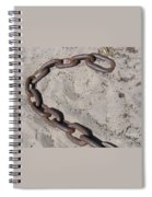 Unchained Spiral Notebook