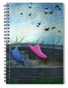 Uncharted Waters Spiral Notebook