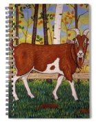 Uncle Billy's Goat Spiral Notebook