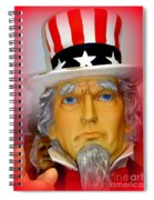 Uncle Sam Wants You Spiral Notebook