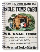 Uncle Tom's Cabin, C1860 Spiral Notebook